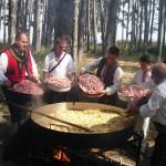 Юнашки кебап в Юнашкия тиган на България
